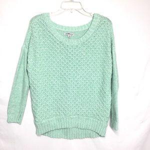 American Eagle Sea-foam Green Sweater